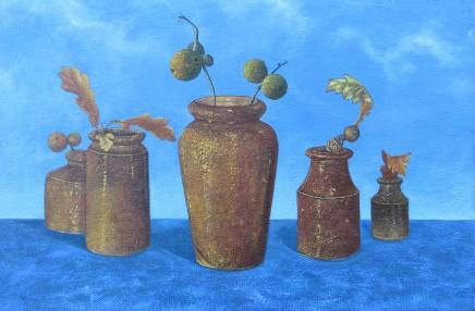 Kim Dewsbury, Oak Apples & Pots
