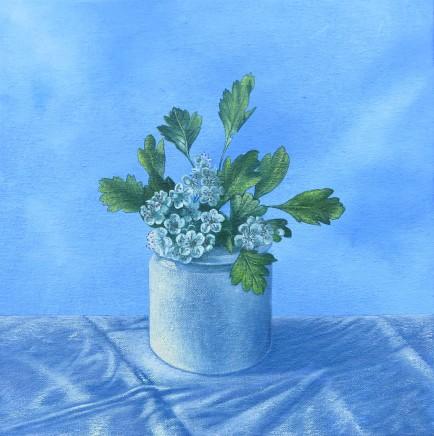 Kim Dewsbury, Spring in a Cream Pot