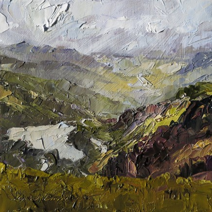David Grosvenor, Cwm Lloer from Pen yr Ole Wen