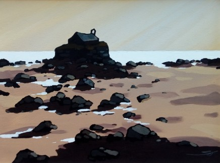 Stephen John Owen, Low Tide, Porth Cwyfan