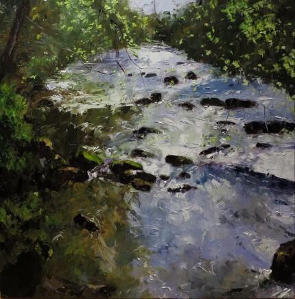 David Grosvenor, Afon Dwyfor at Llanystumdwy
