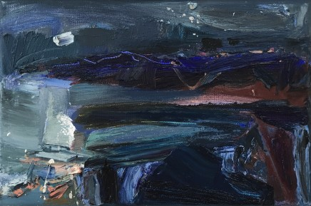Beth Fletcher, Study for 'The Sea moving in Sleep'