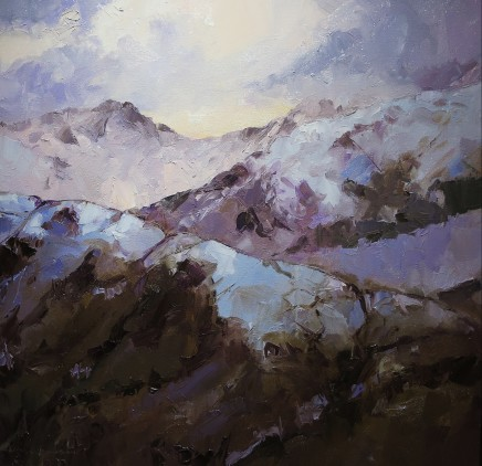 David Grosvenor, Llywedd and Snowdon, Mid Winter