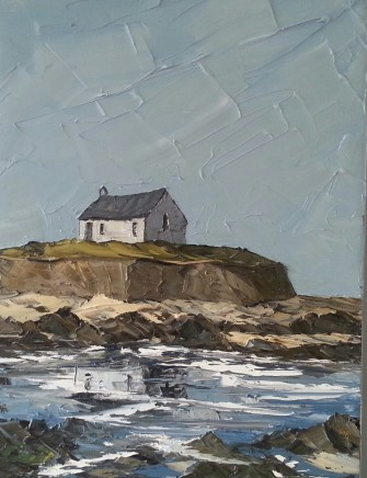 Martin Llewellyn, Summer, St Cwyfan's Church