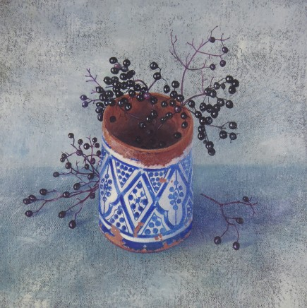 Kim Dewsbury, Elderberries with Moroccan Pot