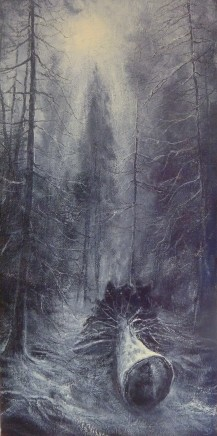 Gerald Dewsbury, In the Winter Woods I