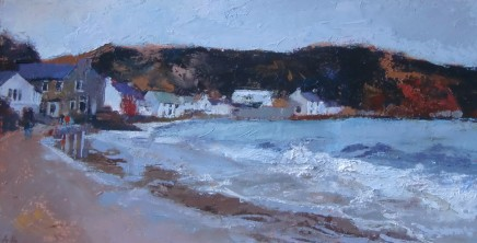 Anne Aspinall, Porthdinllaen, Rough Sea