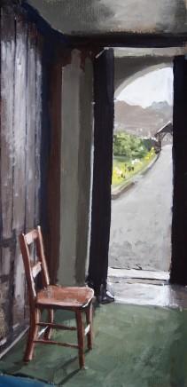 Matthew Wood, St Mary's Church, Strata Florida - View through a Doorway