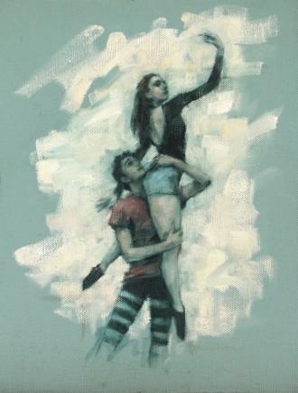 Carl Chapple, 'Romeo & Juliet' - Miguel Fernandes & Maria Brunello rehearsing Romeo a Juliet (Ballet Cymru Rehearsal 168)