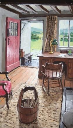 Matthew Wood, View through a Door
