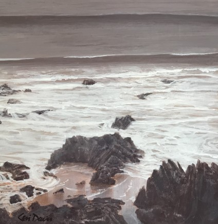 Ceri Auckland Davies, Evening Tide
