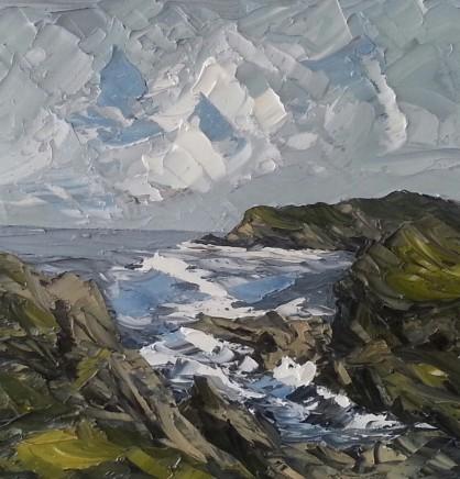 Martin Llewellyn, Rocky Coastline, Anglesey