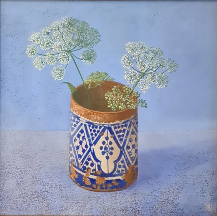 Kim Dewsbury, Moroccan Pot with Ashweed