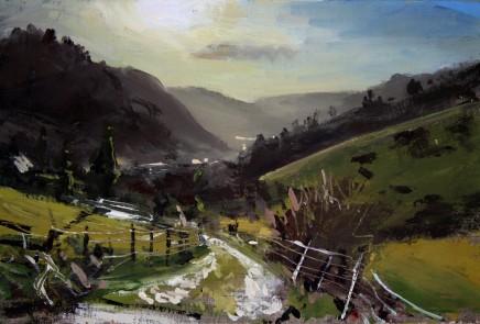 Matthew Wood, Landscape near Lake Vyrnwy