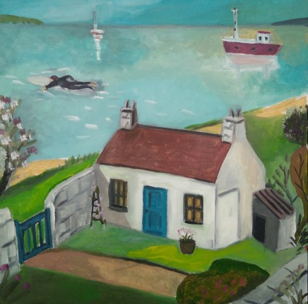 Emrys Williams, Cottage, Menai Straits