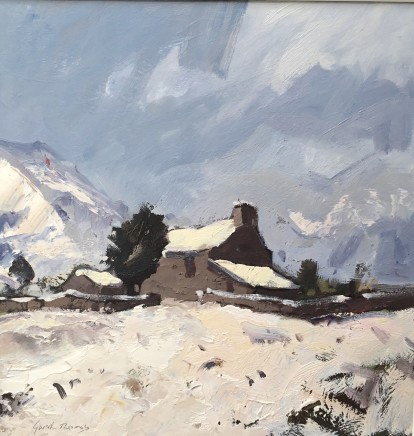 Gareth Thomas, Winter, Capel Curig