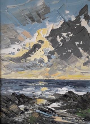 Martin Llewellyn, Sunset, Rhosneigr
