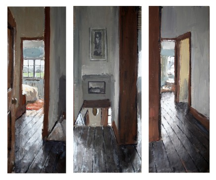 Matthew Wood, The Mill House Triptych II