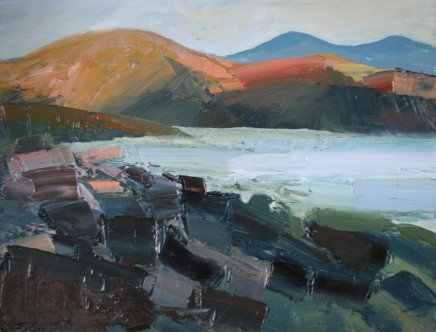 Sarah Carvell, View from the Coastal Path