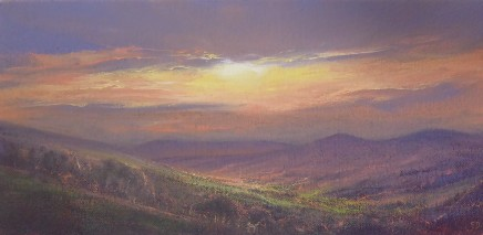 Gerald Dewsbury, Sunset from Tyn y Ffridd