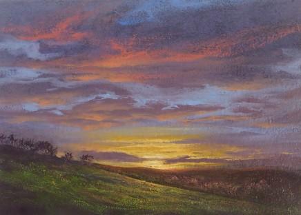 Gerald Dewsbury, Sunset from Tyn-y-Ffridd