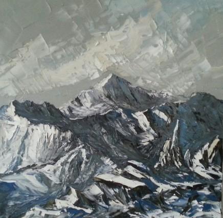 Martin Llewellyn, Winter, Snowdon & Crib Goch