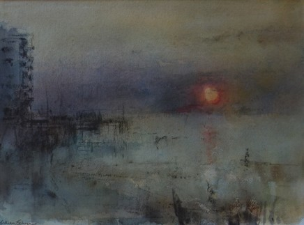 William Selwyn, Sunset, Victoria Dock