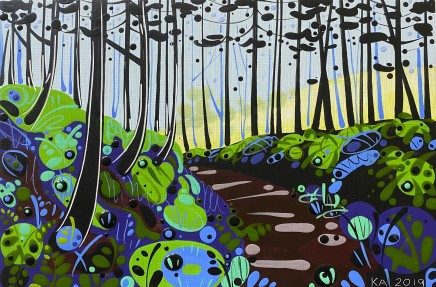 Katie Allen, Forest Walk IV