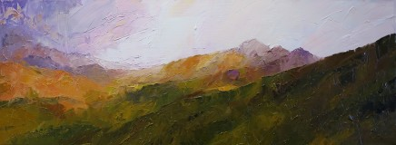 David Grosvenor, Evening Light over Moel Hebog