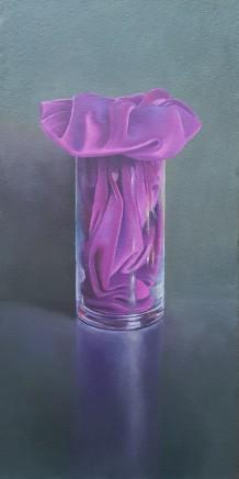 James Guy Eccleston, Purple Velvet Vase