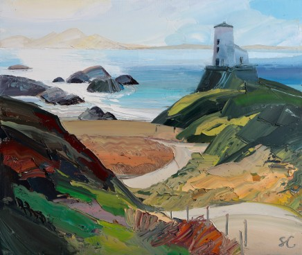 Sarah Carvell, Path To Tŵr Mawr Lighthouse
