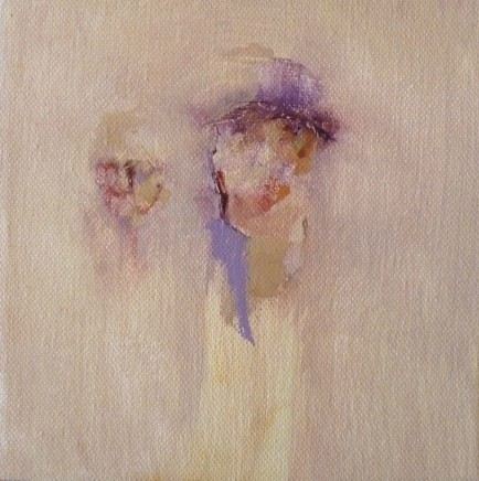 Elfyn Jones, 2 Figures, Watching and Waiting