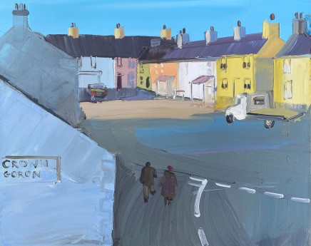 Sarah Carvell, Walking from the Crown, Aberffraw