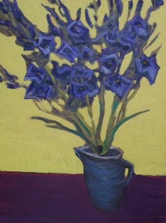 David Lloyd Griffith, Blue Gladiolas II
