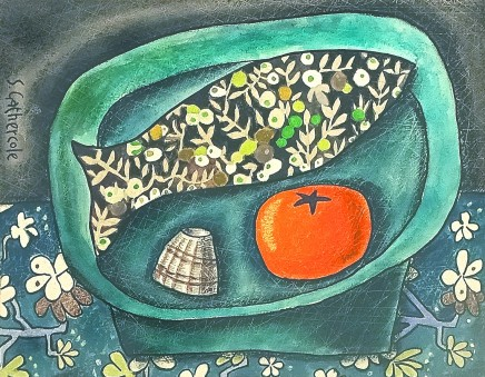 Susan Gathercole, Still Life with Liberty Print Fish