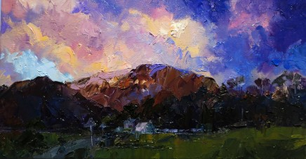 David Grosvenor, Evening Light over Moel Ddu