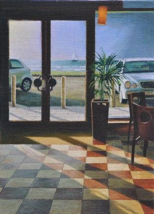 Mike Briscoe, Early Light at the Cafe