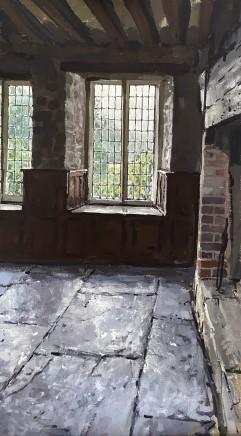 Matthew Wood, Gwydir Castle - View through a Window