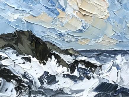 Martin Llewellyn, Crashing Waves, Llanddwyn Island