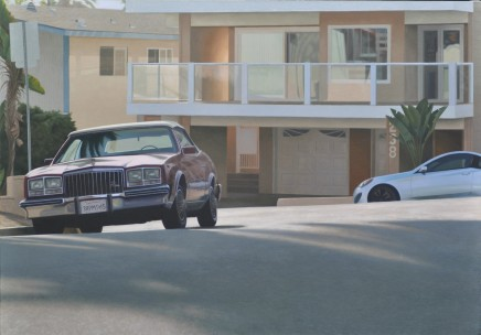 Mike Briscoe, California Suburb, Late Afternoon