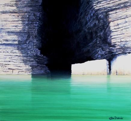 Ceri Auckland Davies, Emerald Sea - Llanbedrog to Ynys Gwylan