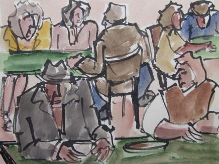 Mike Jones, Cafe, Newcastle Emlyn