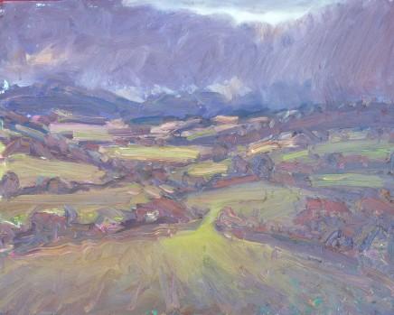 David Lloyd Griffith, Winter Rain, Dyffryn Elwy