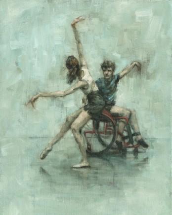 Carl Chapple, 'Divided We Stand' - Ann Louise Wall & Joseph Issac Powell-Main (Ballet Cymru Summer School II)