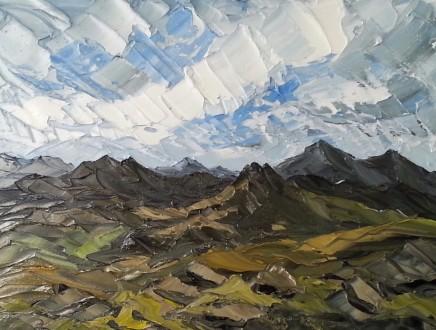 Martin Llewellyn, Mountain Range, Snowdonia