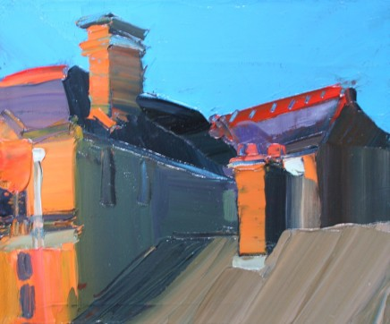 Sarah Carvell, Roofs and Shadows