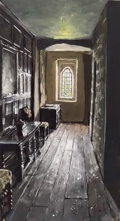 Matthew Wood, Gwydir Castle - Corridor and Window