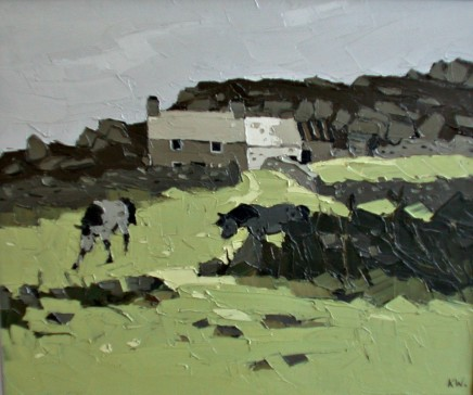 Kyffin Williams, Anglesey Farm, c1990s