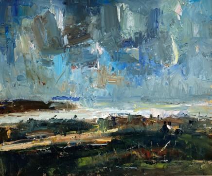 Gareth Parry, Cymylau Glaw yn y Pellter, Bwlch Tocyn, Llŷn / Distant Rain Clouds, Bwlch Tocyn, Llŷn