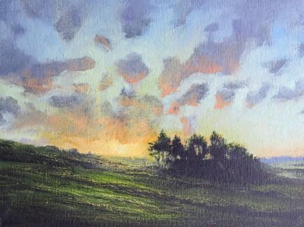 Gerald Dewsbury, Sunset over Oasis